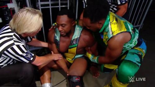 Big E was injured again on WWE SmackDown