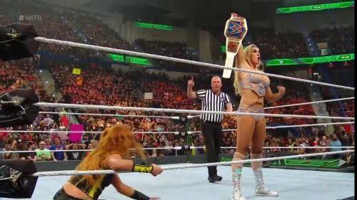 Charlotte Flair won the SmackDown Women's title