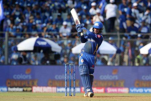 Quinton de Kock - The highest run scorer for Mumbai(Image Courtesy IPL T 20.Com/BCCI)