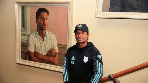 Kumar Sangakkara in the Lord's Pavilion Kumar Sangakkara is the first non-British president in the club's 232-year history.
