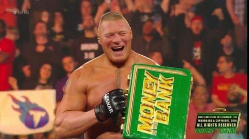 Who will The Beast cash-in his Money in the Bank briefcase?