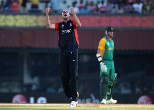 Stuart Broad grabbed four for 15 in 6.4 overs