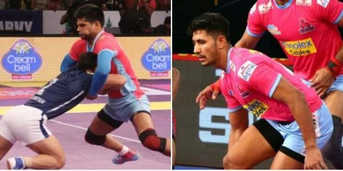 Amit Hooda and Sandeep Dhull: The new corner combination of Jaipur Pink Panthers.