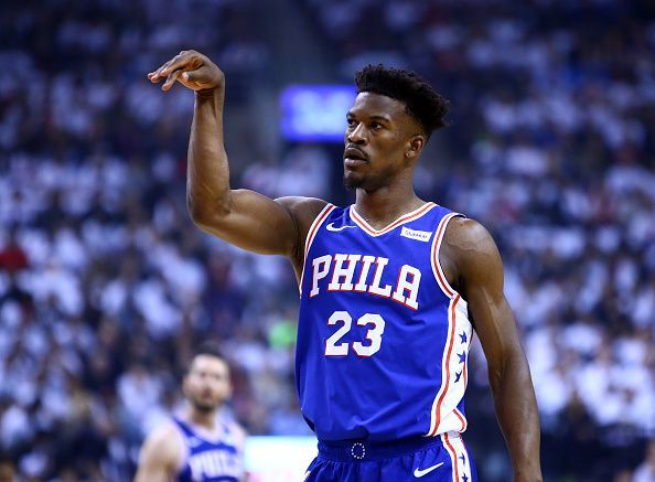 3e767b25bfc Upcoming free-agent Jimmy Butler is attracting interest from the Brooklyn  Nets