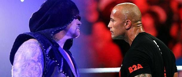 undertaker and the rock
