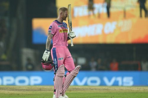 Ben Stokes is likely to be released by RR after another poor showing this season. (Image Courtesy: IPLT20.com/BCCI)