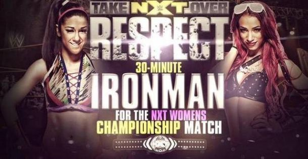 Image result for bayley and sasha banks nxt takeover respect