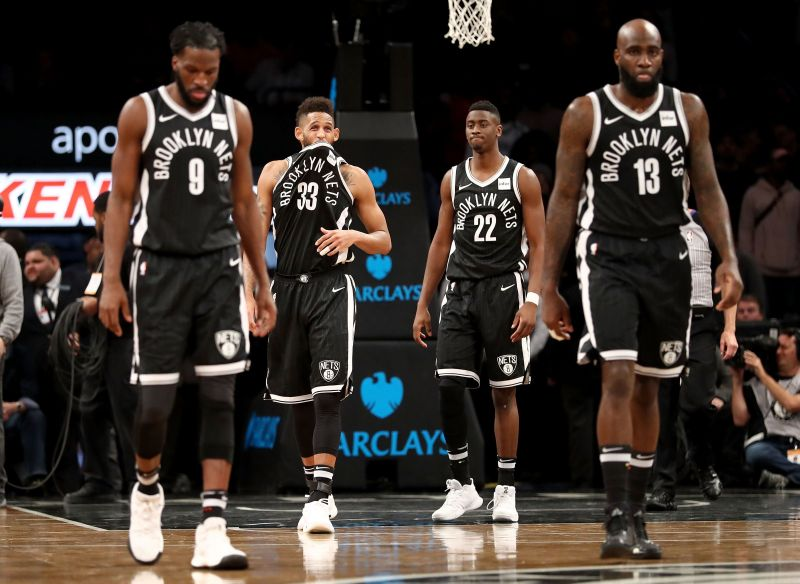 Brooklyn Nets finished at the 12th place on the East leaderboard last year.