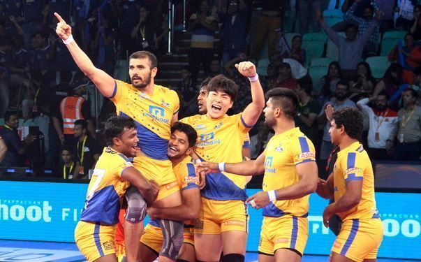 There are a lot of similarities in Tamil Thalaivas