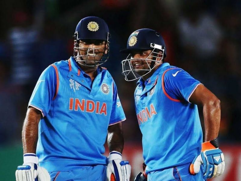 Suresh Raina talked about Dhoni