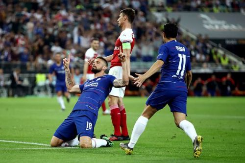 Giroud came up trumps against Arsenal in the final
