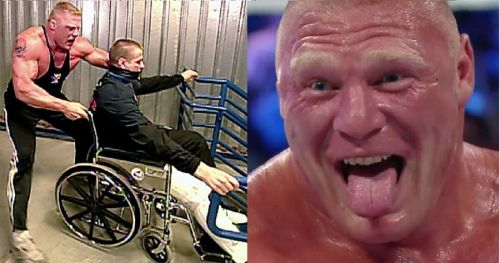 Brock Lesnar's career has been dominating, but sinful