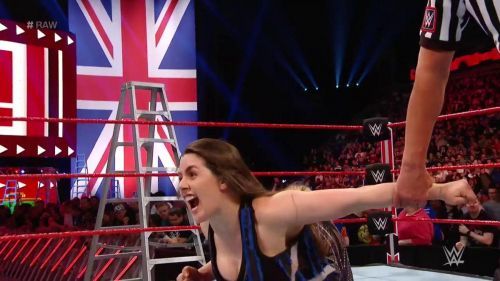 Nikki Cross replaced Alexa Bliss on Raw