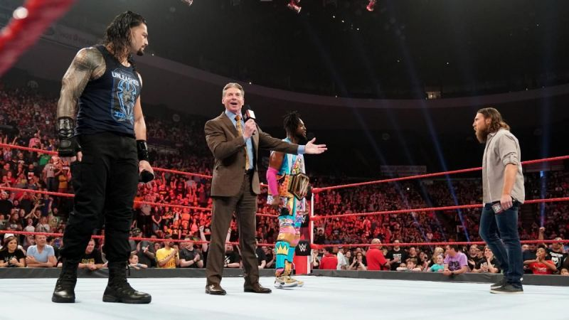 Vince McMahon announced the Wild Card rule on RAW