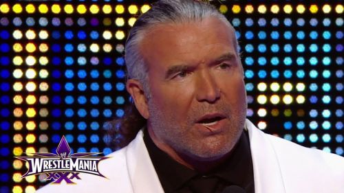 Hall was inducted into the WWE Hall of Fame in 2014 after help from DDP.