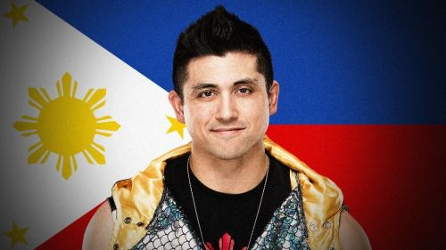 TJP got to represent the Philippines in WWE