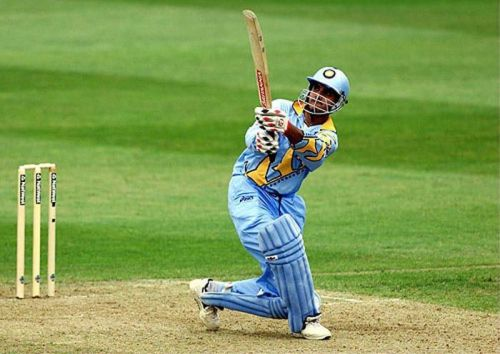 Sourav Ganguly looked in great touch in that match