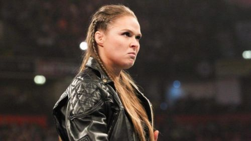 Ronda Rousey and John Cena represented WWE at the upfront Fox event this week!