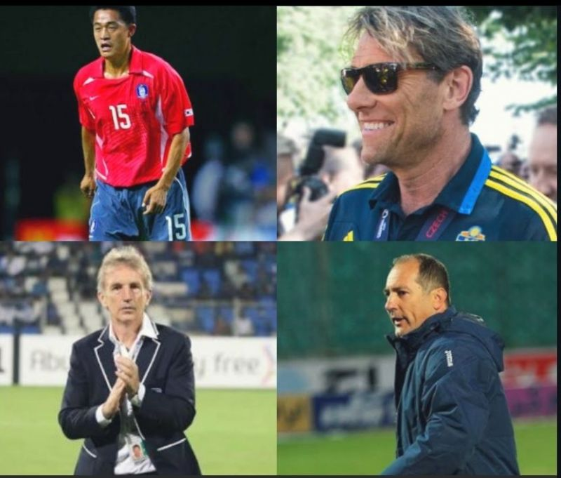 Anyone among these four names can be the next head coach of Indian football team