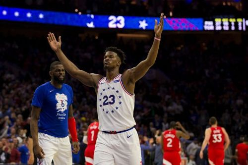 Jimmy Butler was the Sixers' best performer during the playoffs