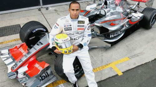 Lewis had made an immediate impact in F1 in his very First season