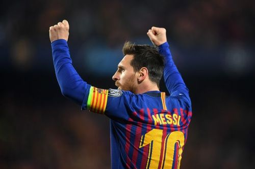 Lionel Messi - Famously known as the GOAT by his admirers