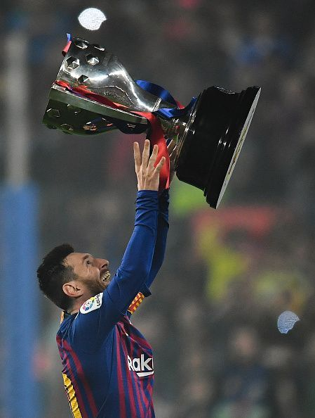 Lionel Messi and co. claimed the La Liga title last weekend