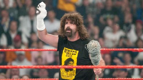 Mick Foley is the perfect definition of the word Hardcore!