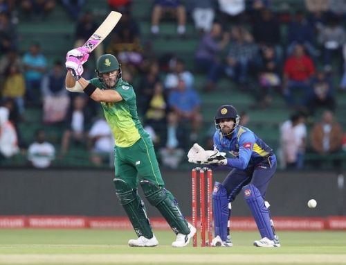Faf du Plessis, South Africa's captain, is one of the star players hoping to end the Curse