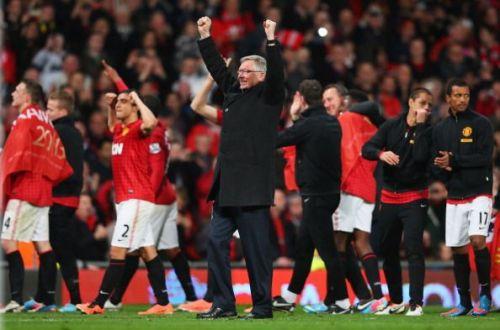 Manchester United last won the league under Sir Alex Ferguson