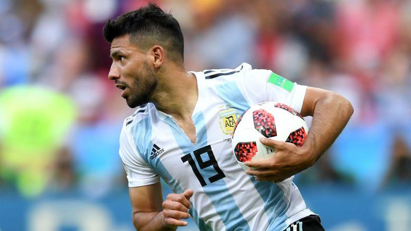 069c8401b89 Sergio Aguero with Argentina