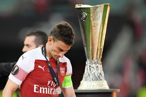 Koscielny failed to defend effectively against Chelsea