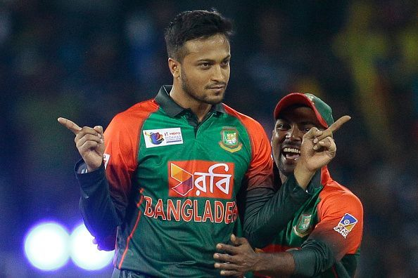 Shakib Al Hasan Tops ICC All-Rounders' Rankings