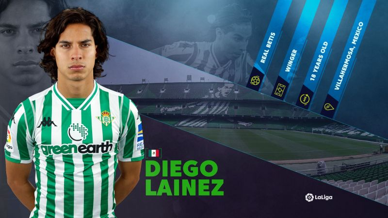 new product 908e9 5a02c Real Betis' Mexican Starlet Diego Lainez poised for break ...
