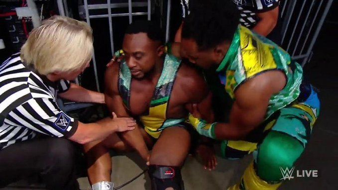 Big E was attacked by an unknown attacker last week