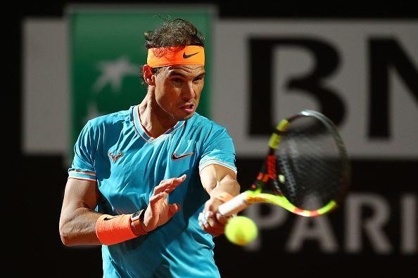 Rafael Nadal at International BNL d