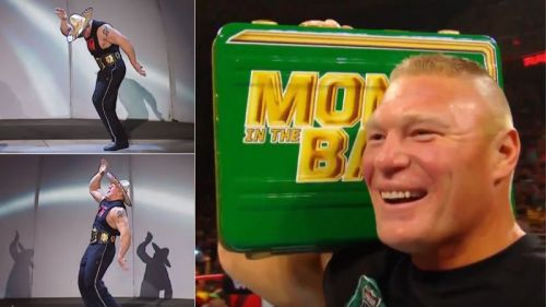 Brock Lesnar is quite the entertainer!