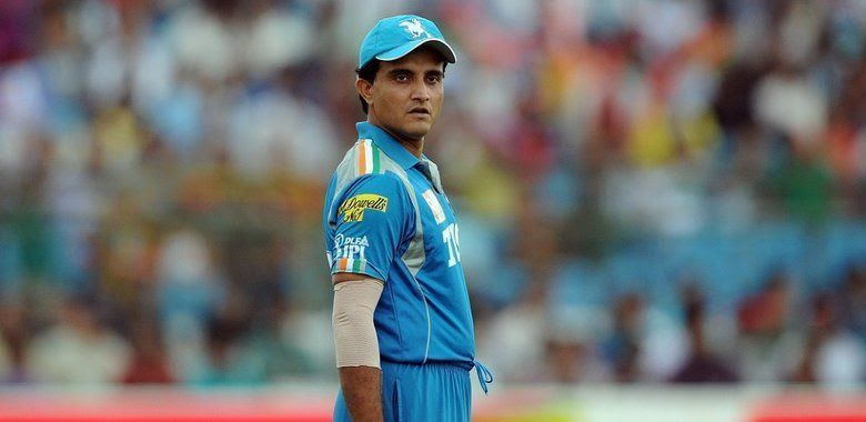 Sourav Ganguly captained the Pune Warriors side in the year 2012. (Image courtesy - IPLT20/BCCI)