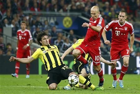 Ribery setting up the winner to Robben in UCL final 2013