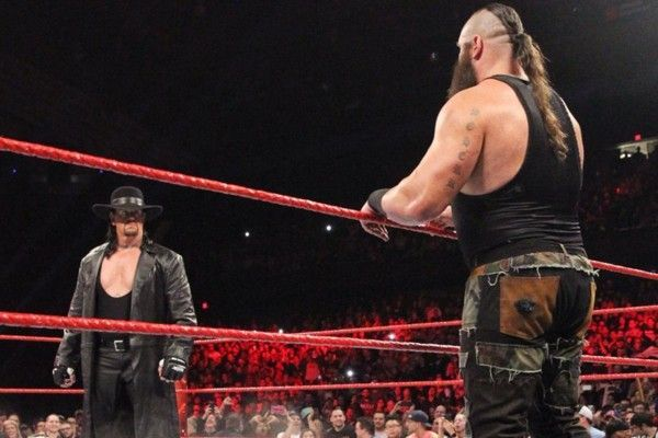 Taker and Strowman