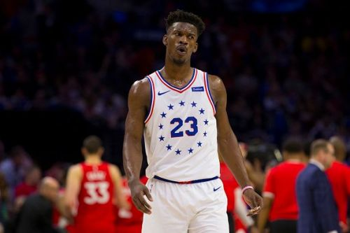 Jimmy Butler impressed during his six-month spell with the Philadelphia 76ers