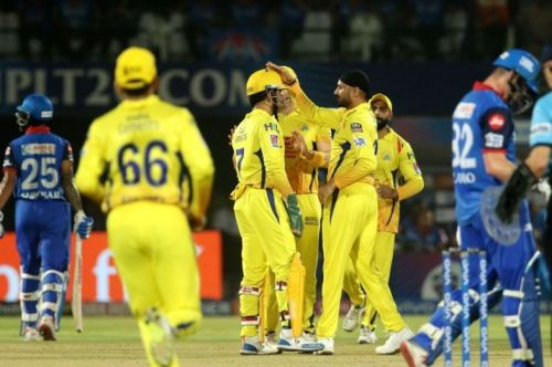 CSK reach their 8th IPL Final after a comfortable victory against the Delhi Capitals