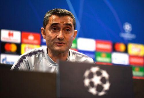 FC Barcelona manager Ernesto Valverde