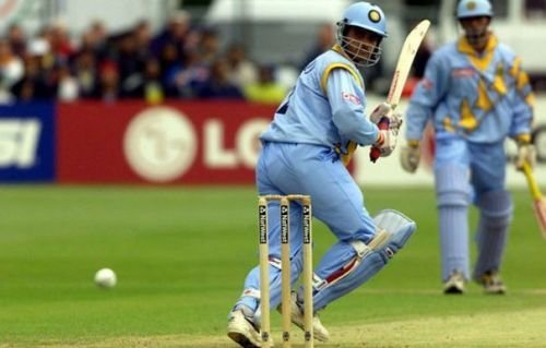 Sourav Ganguly's partnership records