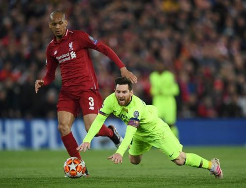 Lionel Messi was not at his best aginst Liverpool at Anfiled