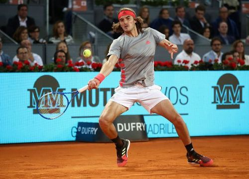Tsitsipas stayed with Nadal in gruelling baseline exchange