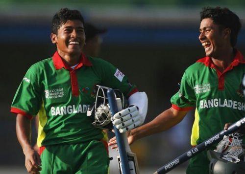 Mushfiqur Rahim (left) and Mohammad Ashraful (right)