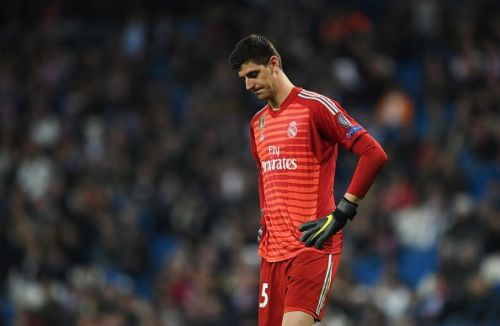 Courtois had an underwhelming season at Real Madrid