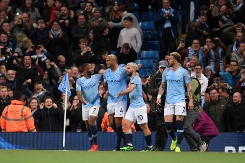 Manchester City rose to the top of the table, again
