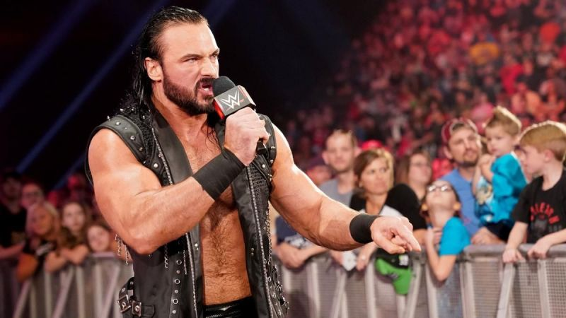 Drew McIntyre faced Roman Reigns on RAW